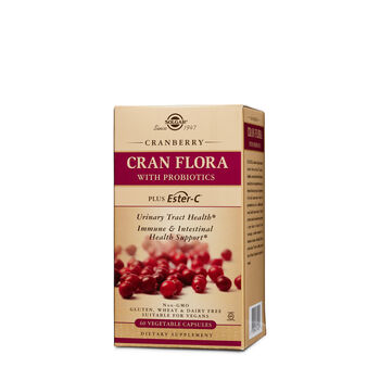 Cran Flora with Probiotics Plus Ester-C | GNC