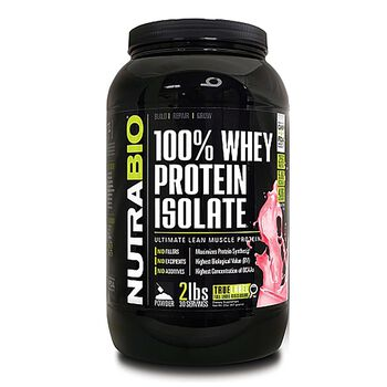100% Whey Protein Isolate - Wild StrawberryWild Strawberry | GNC