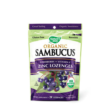 Sambucus Organic - Zinc Lozenges | GNC