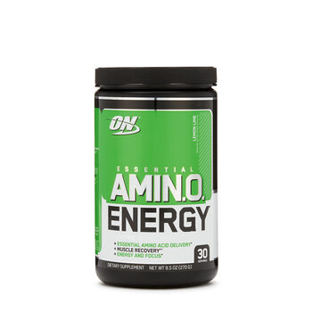 Essential AMIN.O. Energy™ - Lemon LimeLemon Lime | GNC
