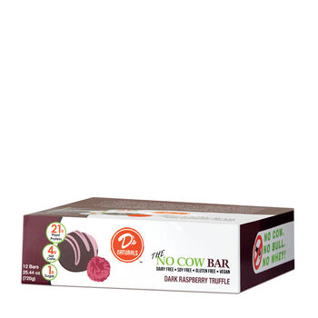 The No Cow Bar - Dark Raspberry TruffleDark Raspberry Truffle | GNC