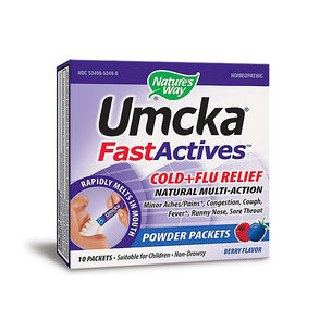 Umcka® FastActives™ Cold + Flu Relief - Berry | GNC