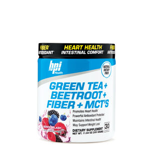 Green Tea + Beetroot + Fiber + MCT's - Berry SplashBerry Splash | GNC