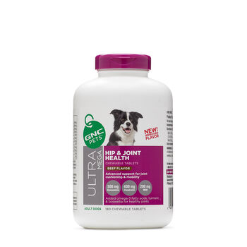 Ultra Mega Hip and Joint Health - Adult Dogs - Beef Flavor | GNC