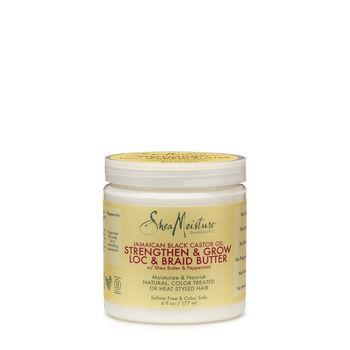 Jamaican Black Castor Oil Strengthen & Grow Loc & Braid Butter | GNC