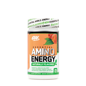 Essential Amino Energy Naturally Flavored - Simply Peach TeaSimply Peach Tea | GNC