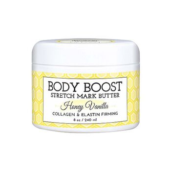 Body Boost Stretch Mark Butter - Honey Vanilla | GNC
