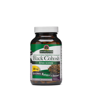 Black Cohosh 50mg | GNC