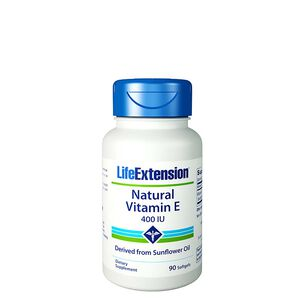Natural Vitamin E 400 IU | GNC