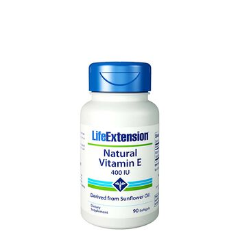Natural Vitamin E 400 IU   GNC