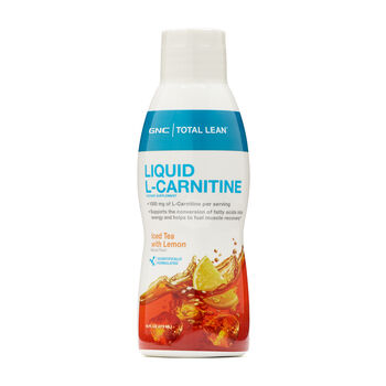 Liquid L-Carnitine -  Iced Tea with Lemon | GNC