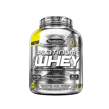 PLATINUM 100% WHEY - Cookies and CreamCookies and Cream | GNC