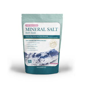 Pink Himalayan Mineral Salt Bath Soak | GNC