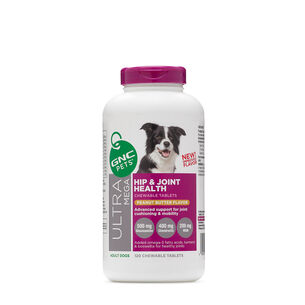Ultra Mega Hip and Joint Health - Adult Dogs - Peanut Butter Flavor | GNC