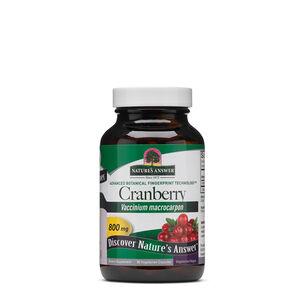 GNC Nature's Answer Cranberry