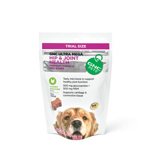 Ultra Mega Hip & Joint Health for All Dogs - Yummy Chicken Flavor - TRIAL SIZE   GNC
