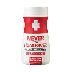 Never Too Hungover® | GNC