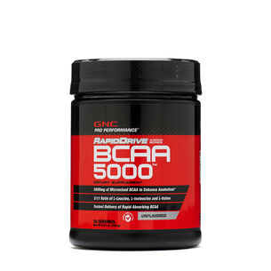 RapidDrive BCAA 5000Unflavored | GNC