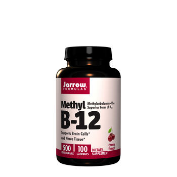 Methyl B-12 5000 Micrograms - Cherry | GNC