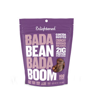 Roasted Broad Bean Crisps - Cocoa Dusted | GNC