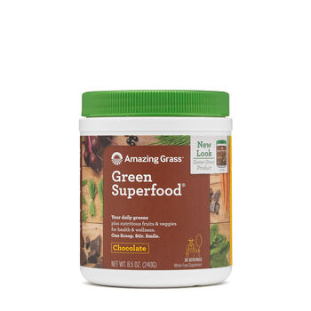 Green SuperFood® Chocolate Drink PowderChocolate | GNC