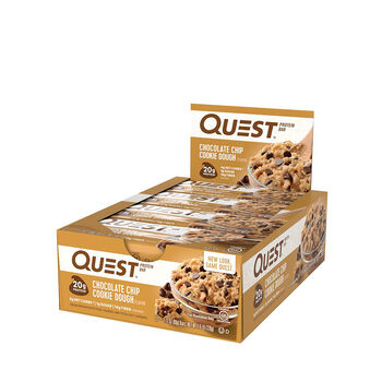 Quest Bar – Chocolate Chip Cookie DoughChocolate Chip Cookie Dough | GNC