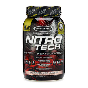 Nitro-Tech™ - Cookies and CreamCookies and Cream | GNC