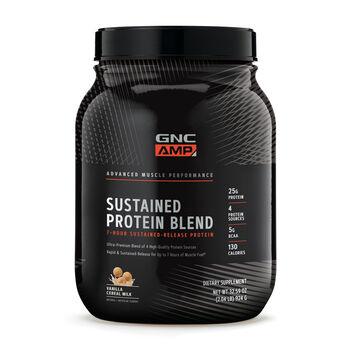 Sustained Protein Blend - Vanilla Cereal MilkVanilla Cereal Milk | GNC