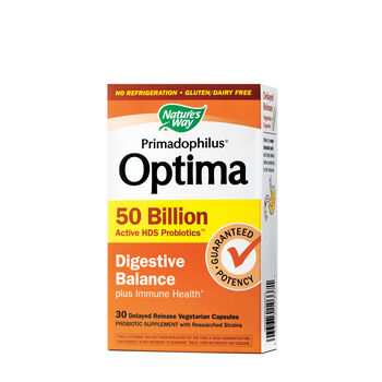 Primadophilus® Optima - Digestive Balance 50 Billion | GNC