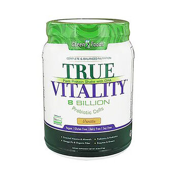 True Vitality Plant Protein Shake with DHA - Vanilla | GNC