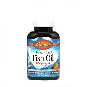 The Very Finest Fish Oil - Natural Orange Flavor | GNC