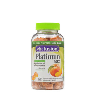Platinum 50+ - Peach | GNC