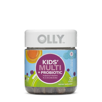 Kids' Multi + Probiotic - Yum Berry Punch | GNC