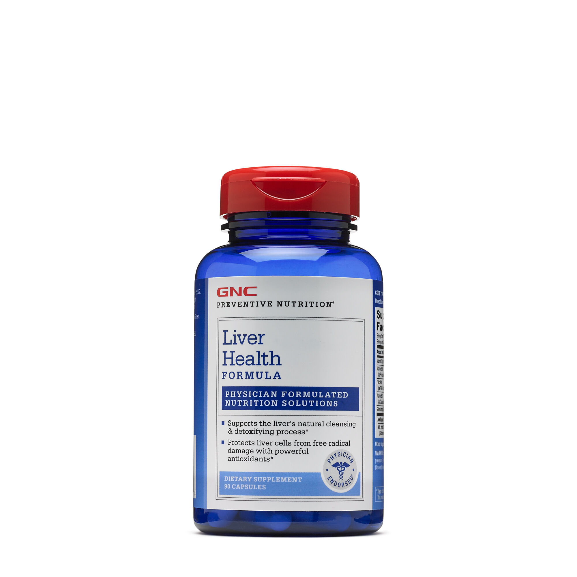 Liver Health Formula - 90 Capsules - GNC Preventive Nutrition� - Liver Support