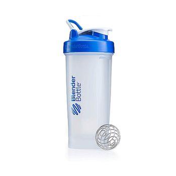 BlenderBottle® Pro45™ Shaker BottleClear Cup, Blue Lid | GNC