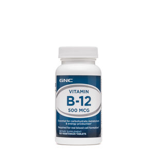 GNC 비타민B Vitamin B-12 500 MCG