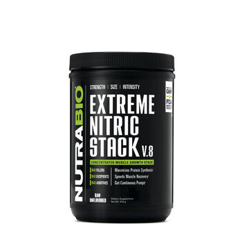 Extreme Nitric Stack - UnflavoredUnflavored | GNC