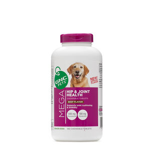 Mega Hip and Joint Health - Senior Dogs - Beef Flavor | GNC