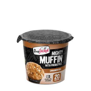 Mighty Muffin with Probiotics* - Cinnamon RollCinnamon Roll | GNC