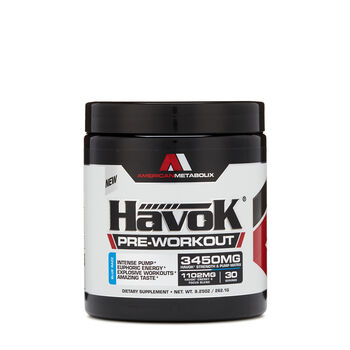 HavoK® Pre-Workout - Blue RazzBlue Razz | GNC