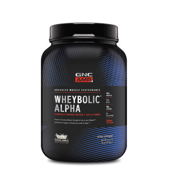 Wheybolic™ Alpha - Classic VanillaClassic Vanilla | GNC