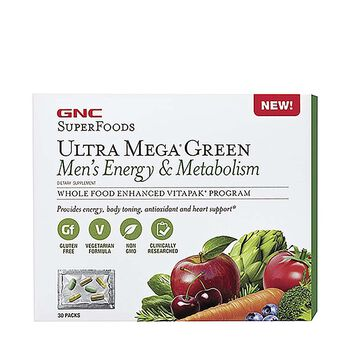 Ultra Mega® Green Men's Energy & Metabolism | GNC