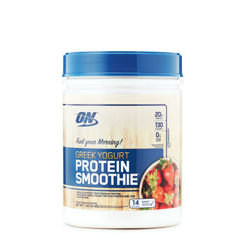 Greek Yogurt Protein Smoothie™ - StrawberryStrawberry | GNC