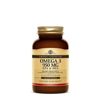 Triple Strength Omega 3 950 mg | GNC