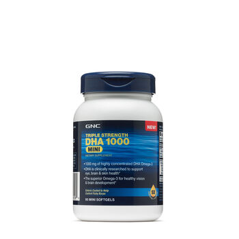 Triple Strength DHA 1000 Mini | GNC