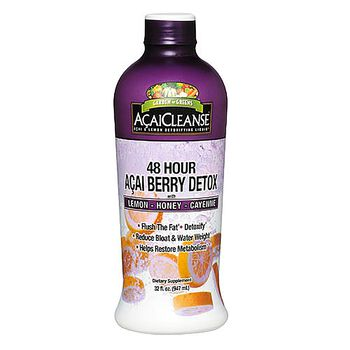 48 hour acai berry detox liquid