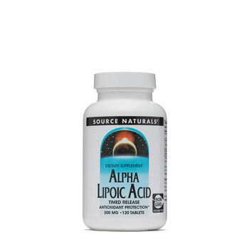 Alpha Lipoic Acid Timed Release 300 mg | GNC