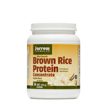Ultra Smooth Brown Rice Protein Concentrate - VanillaVanilla | GNC