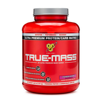 True-Mass® - Strawberry MilkshakeStrawberry Milkshake | GNC