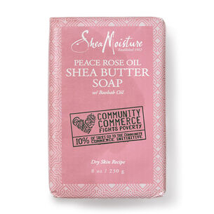 Peace Rose Oil Shea Butter Soap with Baobab Oil | GNC